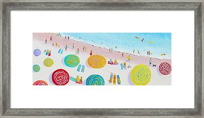 Beach Painting - The Simple Life Framed Print