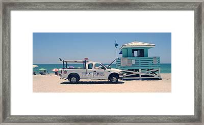 Beach Patrol Framed Print by Steven Scott