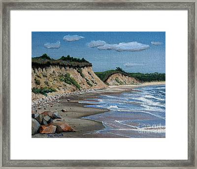 Beach Framed Print by Paul Walsh