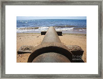 Beach Pipeline Framed Print by Jorgo Photography - Wall Art Gallery