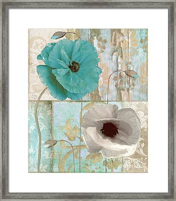 Beach Poppies II Framed Print by Mindy Sommers