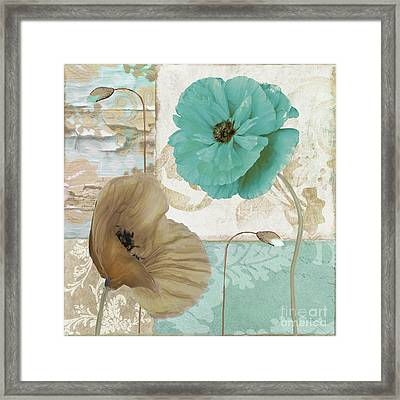 Beach Poppies IIi Framed Print by Mindy Sommers