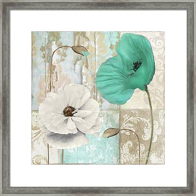 Beach Poppies Iv Framed Print by Mindy Sommers