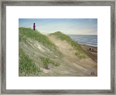 Beach Prize Framed Print