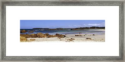 Beach Scene 2 Framed Print