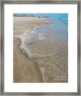 Beach Season Framed Print by Marcia Lee Jones