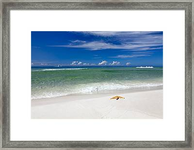 Beach Splendour Framed Print by Janet Fikar