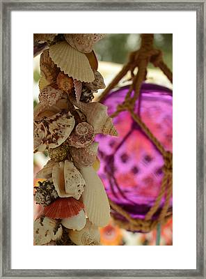 Beach Stuff Framed Print by Maria Suhr