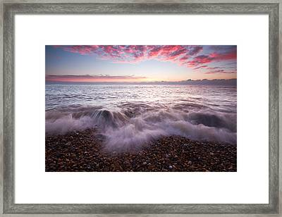 Beach Sunrise Framed Print