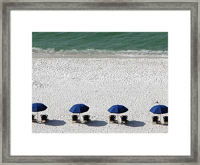 Framed Print featuring the photograph Beach Therapy 2 by Marie Hicks