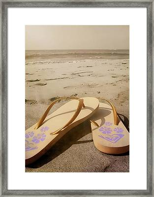 Beach Therapy Framed Print by JAMART Photography