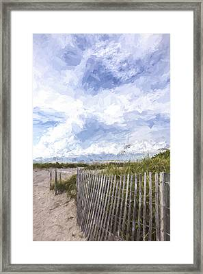 Beach Time IIi Framed Print by Jon Glaser