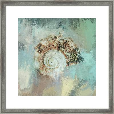 Beach Treasure 1 By Jai Johnson Framed Print by Jai Johnson