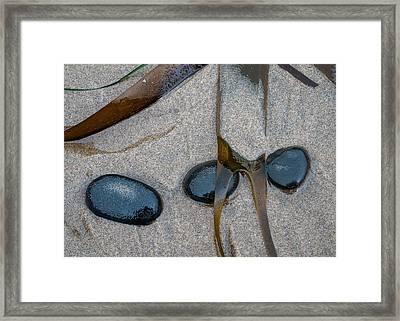 Beach Treasures Framed Print