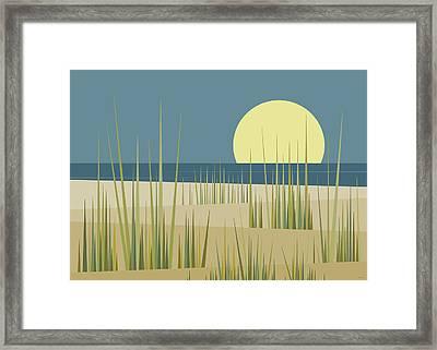 Beach  Framed Print by Val Arie