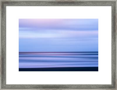 Beach X Framed Print by Jon Glaser