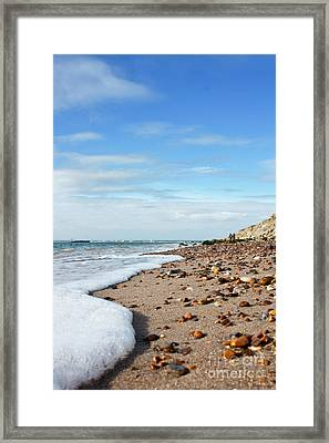 Beachcombing Framed Print