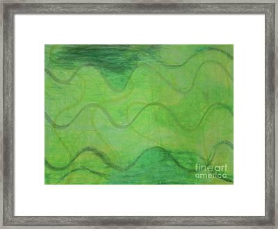 Beachday Framed Print