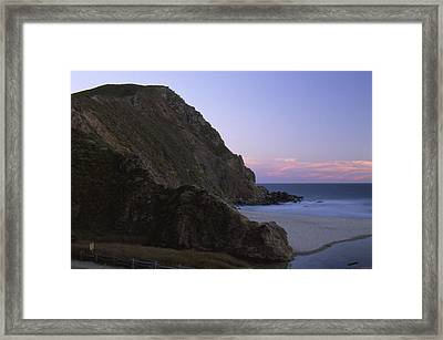 Beached Dragon Framed Print