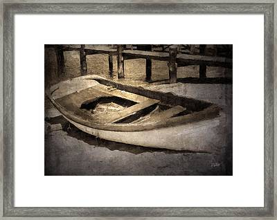 Beached Framed Print by Michael Petrizzo