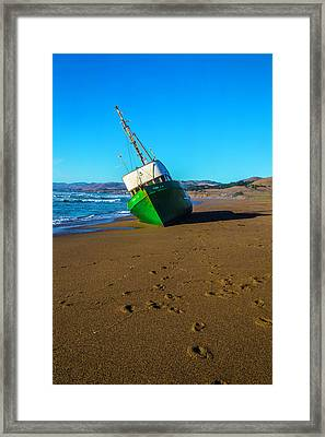 Beached Verna A II Framed Print by Garry Gay
