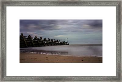 Beachscape Framed Print by Martin Newman
