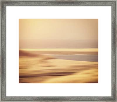 Beachscape Framed Print by Wim Lanclus