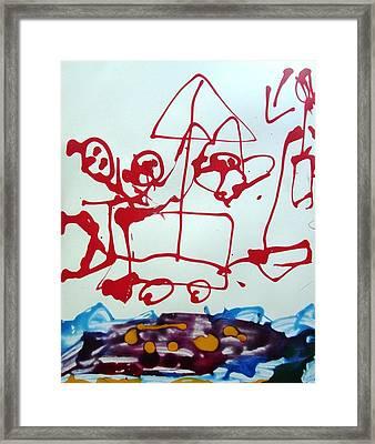 Beachside Framed Print by Nanak Chadha