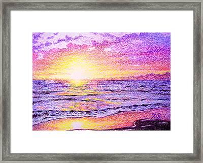 Beachside Framed Print