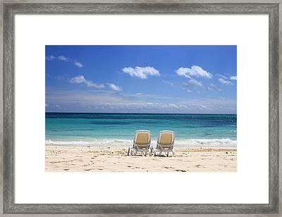 Beachtime Framed Print by Nicole Huebscher