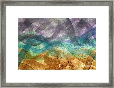 Beachy Framed Print