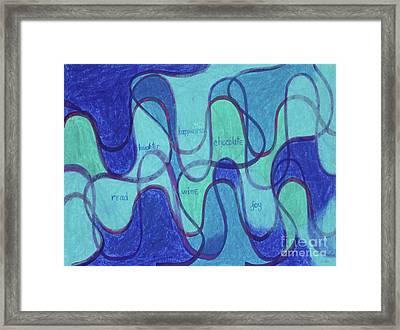 Beachy Two Framed Print