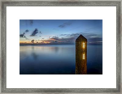 Beacon Framed Print by Al Hurley