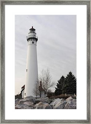 Beacon Framed Print by Dan Holm