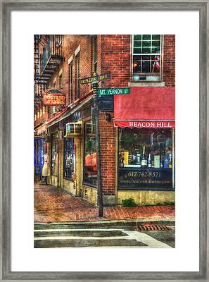 Beacon Hill - Boston Framed Print
