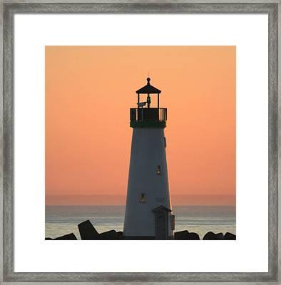 Beacon Of Light Framed Print