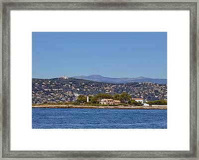 Beacon On The Rock Framed Print by Sergey Pro