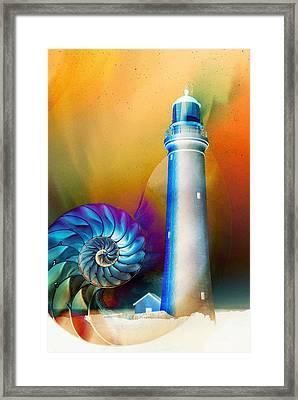 Beacon Framed Print by Jacky Gerritsen