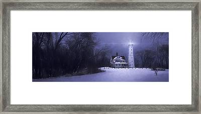 Beacon Framed Print by Scott Norris
