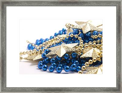 Beads And Stars Framed Print by Andy Smy