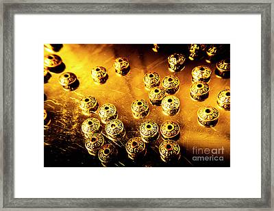 Beads From Another Universe Framed Print by Jorgo Photography - Wall Art Gallery