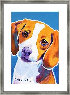 Beagle - Dixie Framed Print