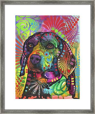 Beagle Eagle Framed Print