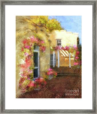 Framed Print featuring the digital art Beallair In Bloom by Lois Bryan