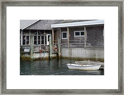 Beals Lobster Pound Framed Print