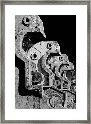 Framed Print featuring the photograph Beam Bender - Bw by Werner Padarin