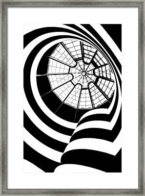 Beam Me Up  Framed Print by Az Jackson