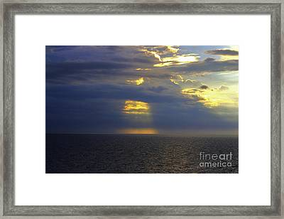 Beam Me Up Framed Print by Patti Whitten