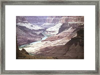 Beamer Trail Grand Canyon Framed Print