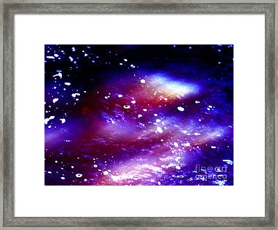 Beaming Light Framed Print